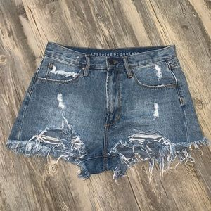 Articles of society high waisted shorts size 26